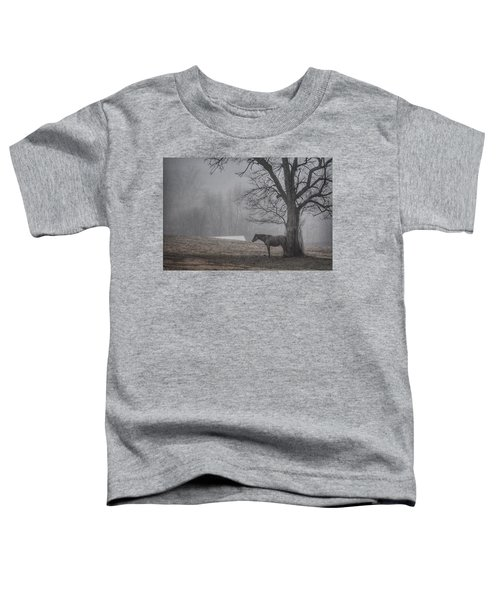 Horse And Tree Toddler T-Shirt