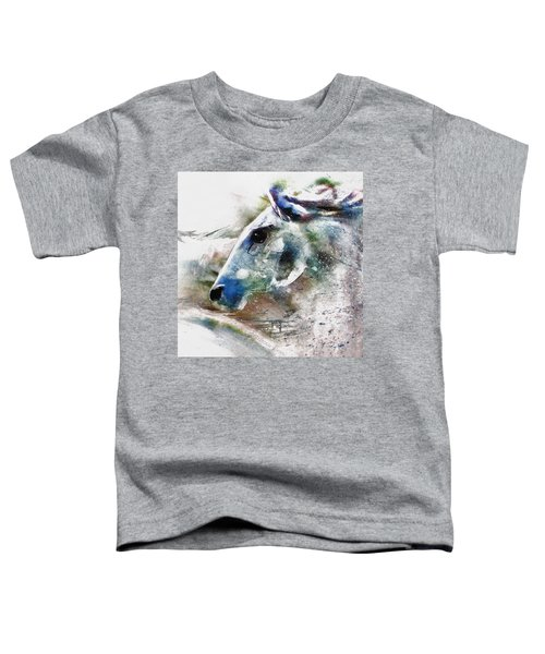 Horse Of Color Toddler T-Shirt
