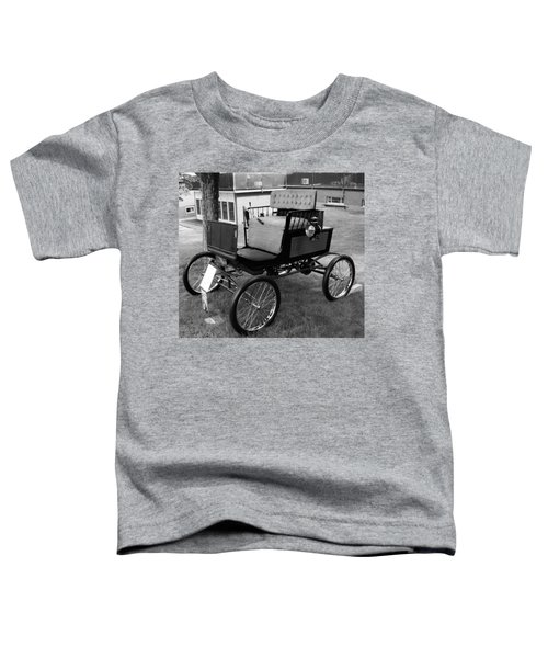 Horseless Carriage-bw Toddler T-Shirt