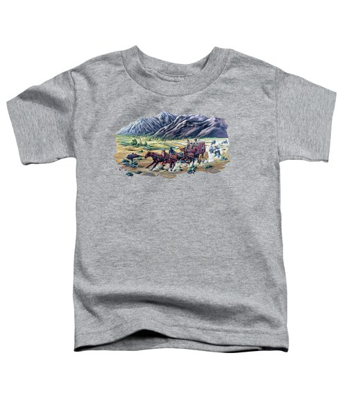 Horses And Motorcycles Toddler T-Shirt