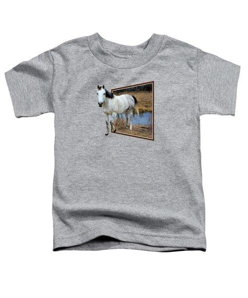 Horsing Around Toddler T-Shirt