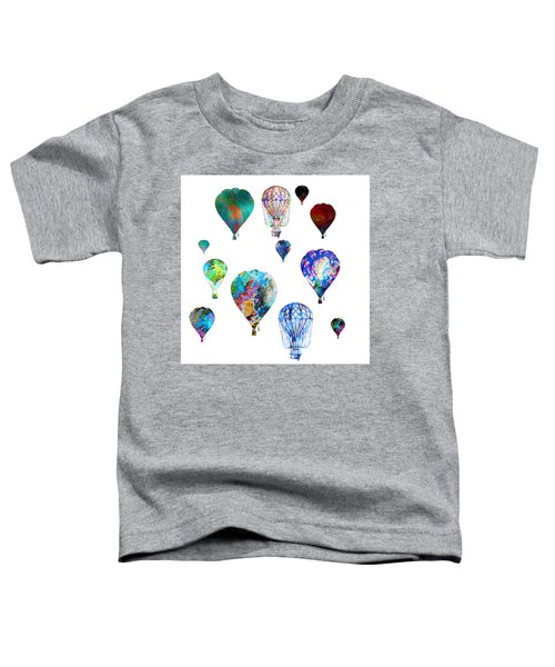 Hot Air Balloons Toddler T-Shirt