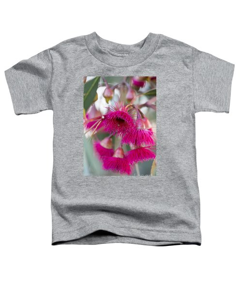 Toddler T-Shirt featuring the photograph Hot Pink by Linda Lees