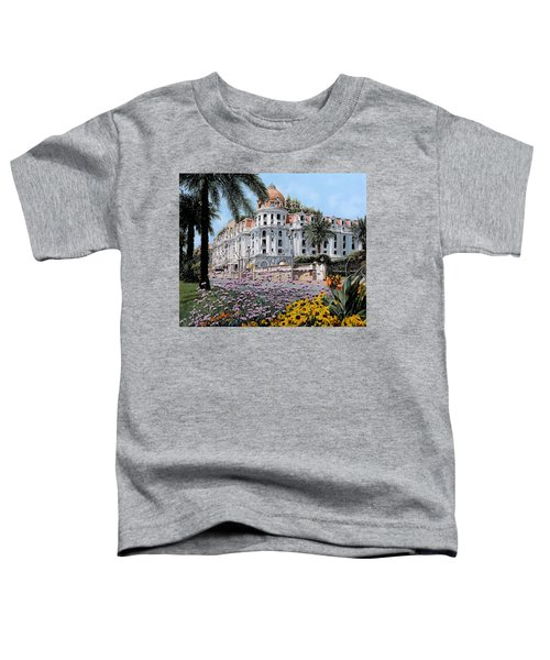 Hotel Negresco  Toddler T-Shirt