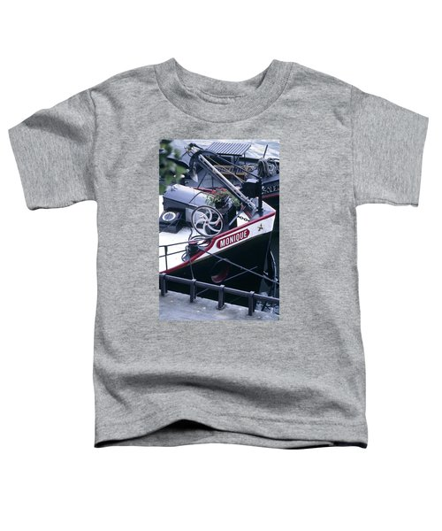 Houseboat In France Toddler T-Shirt