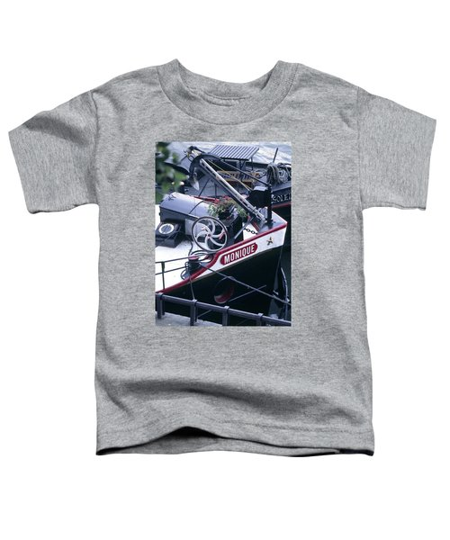 Houseboat In France Toddler T-Shirt