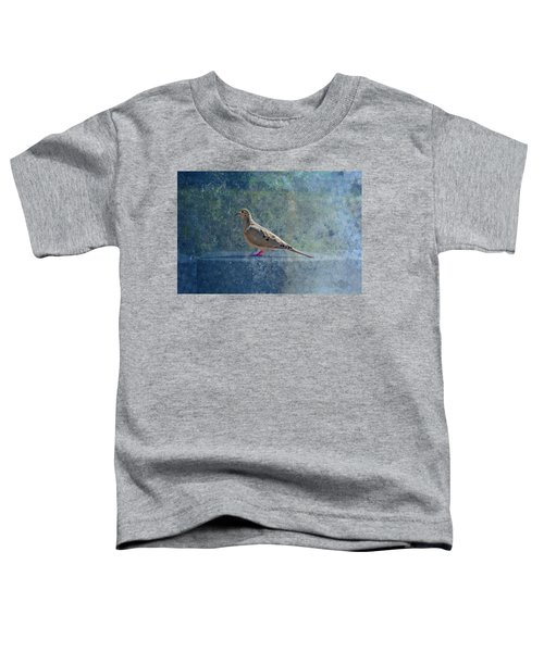 Toddler T-Shirt featuring the photograph How Can You Just Leave Me Standing by Alison Frank