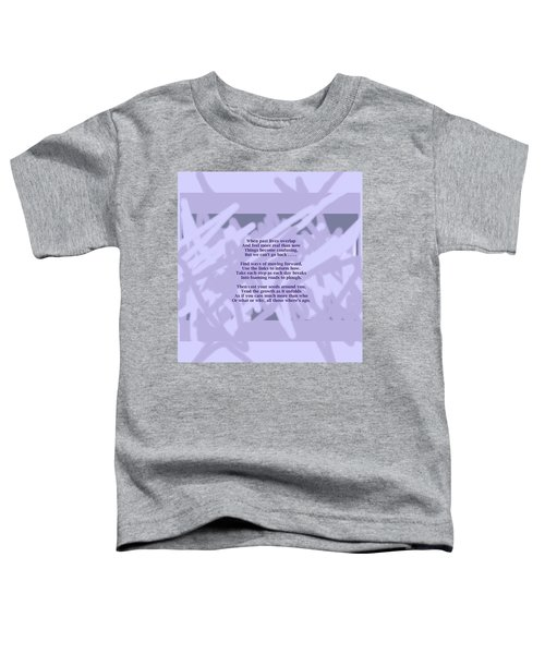 How Now Poem Toddler T-Shirt