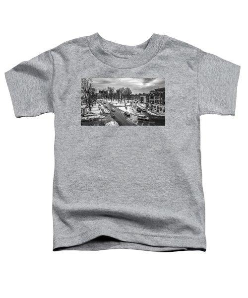 Hudson Falls Business District Toddler T-Shirt