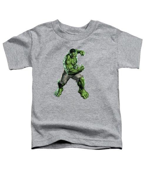 Hulk Splash Super Hero Series Toddler T-Shirt