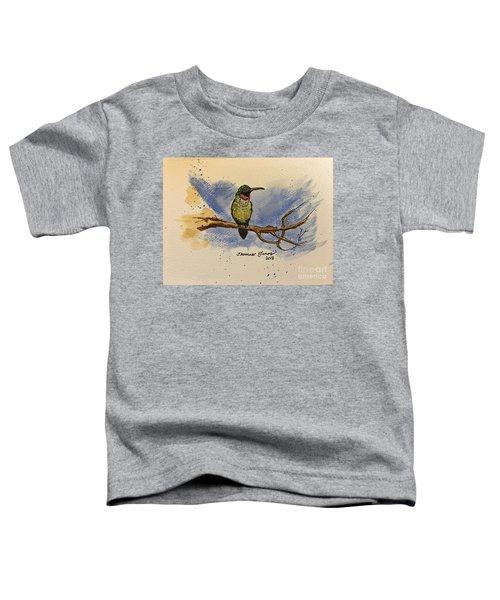 Hummingbird At Rest Toddler T-Shirt