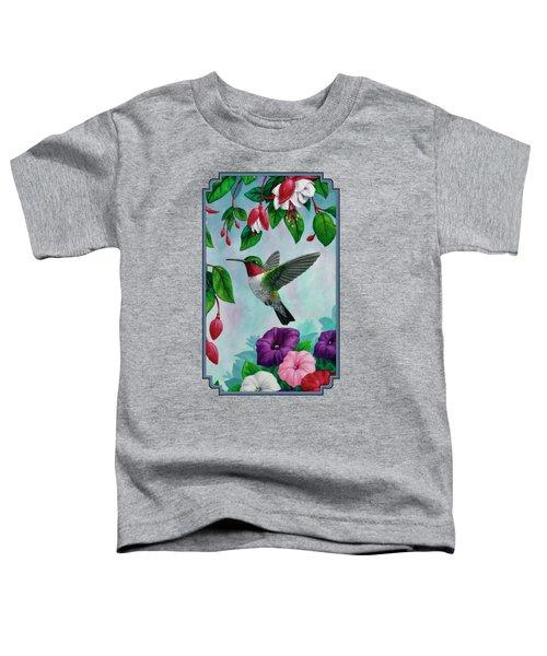 Hummingbird Greeting Card 1 Toddler T-Shirt