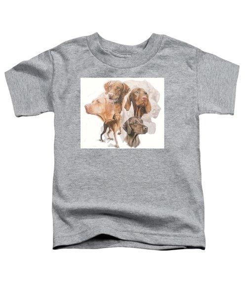 Hungarian Vizsla Medley Toddler T-Shirt