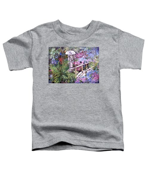 Hydrangea In The Formosa Gardens Toddler T-Shirt