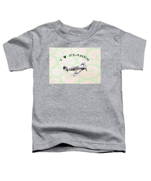 I Love Planes - Hurricane Toddler T-Shirt