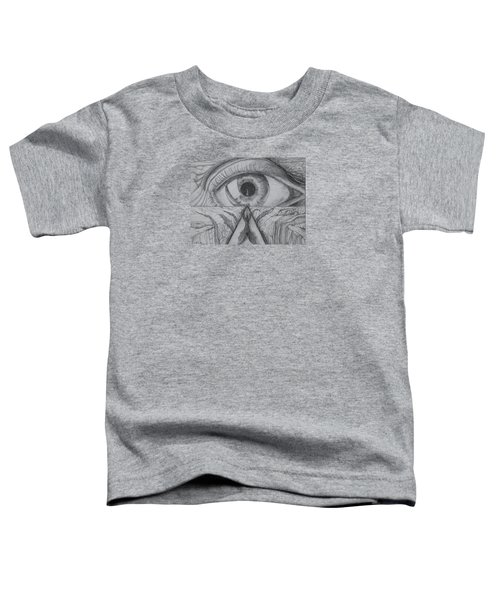 Toddler T-Shirt featuring the drawing I Shadow by Charles Bates