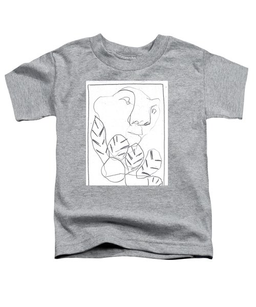 I Was Born In A Mine 2 Toddler T-Shirt
