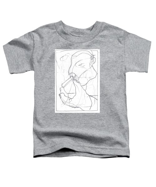 I Was Born In A Mine 4 Toddler T-Shirt