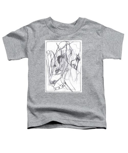 I Was Born In A Mine 9 Toddler T-Shirt