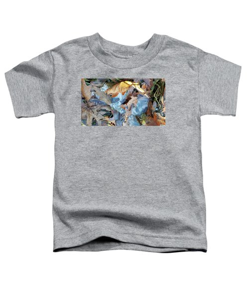 Ice And Fallen Leaves Toddler T-Shirt