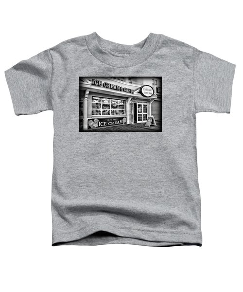 Ice Cream And Candy Shop At The Boardwalk - Jersey Shore Toddler T-Shirt