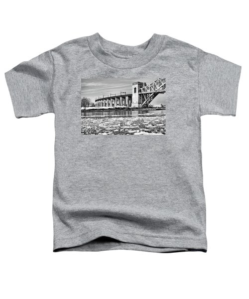 Ice Flows On The East River Toddler T-Shirt