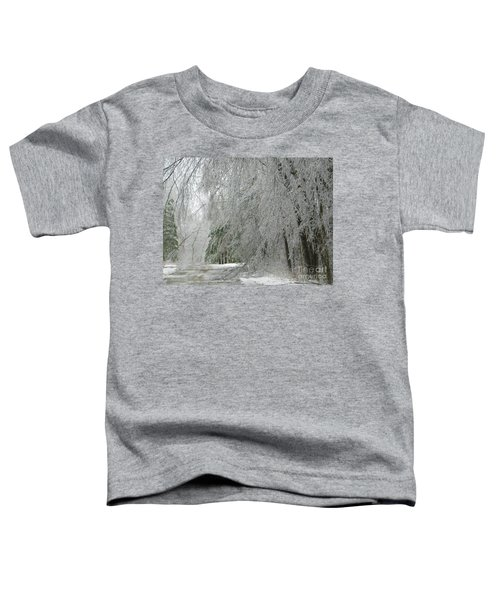 Icy Street Trees Toddler T-Shirt