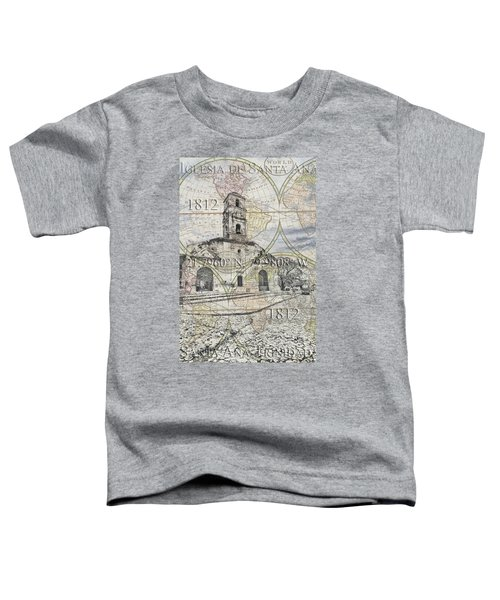 Iglesia De Santa Ana Passport Toddler T-Shirt