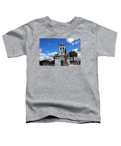 Iglesia Virgen De Bronce, Parroquia De Nuestra Senora Del Carmen Toddler T-Shirt