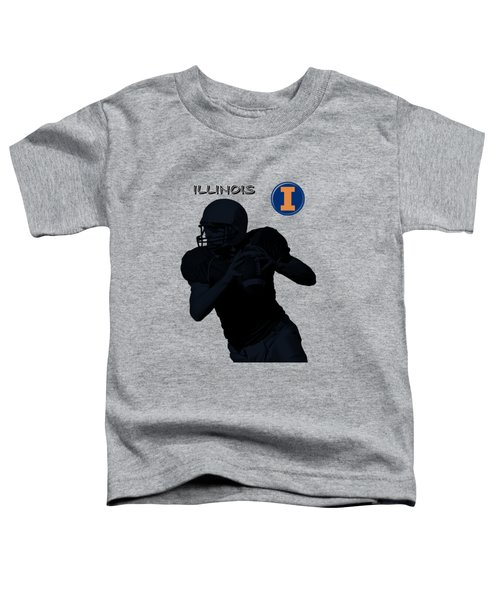 Illinois Football Toddler T-Shirt