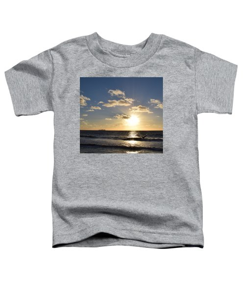 Sunset Reflection At Imperrial Beach Toddler T-Shirt
