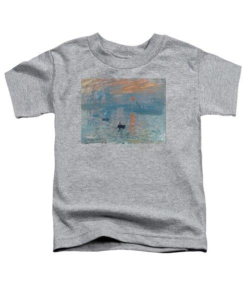 Impression Sunrise Toddler T-Shirt