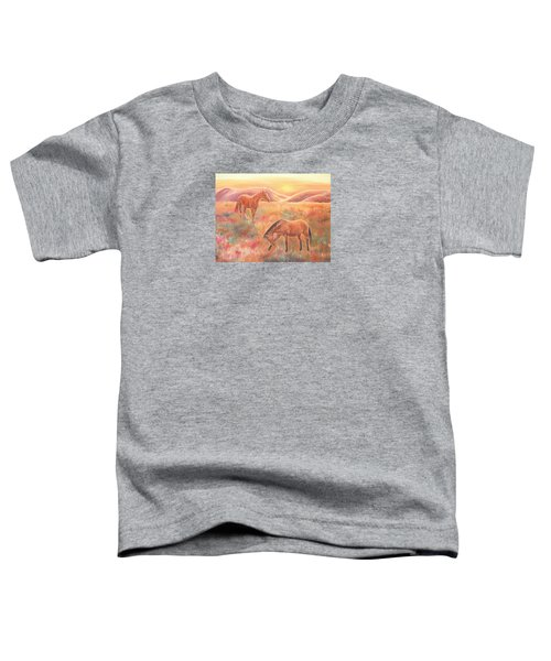 Impressions At Sunset Toddler T-Shirt