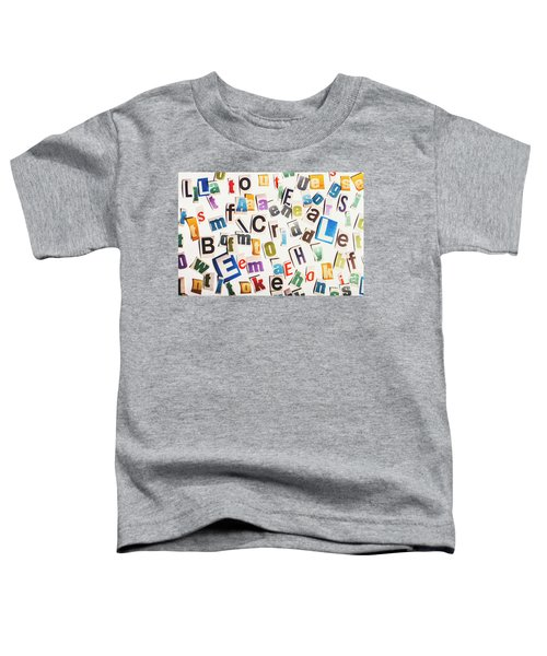 In Clues Of A Riddle Toddler T-Shirt