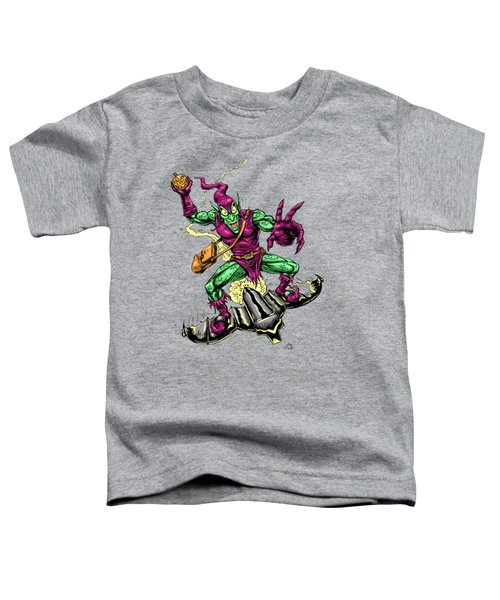 In Green Pursuit Toddler T-Shirt by John Ashton Golden