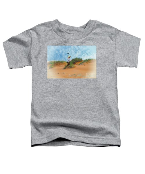 In The Dunes With A Hummingbird Toddler T-Shirt