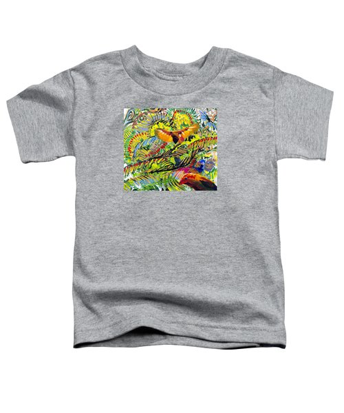 Birds In The Forest Toddler T-Shirt