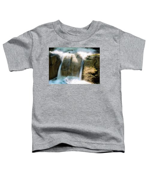 Toddler T-Shirt featuring the photograph In The Pit by Alison Frank