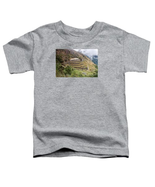 Inca Ruins And Terraces Toddler T-Shirt