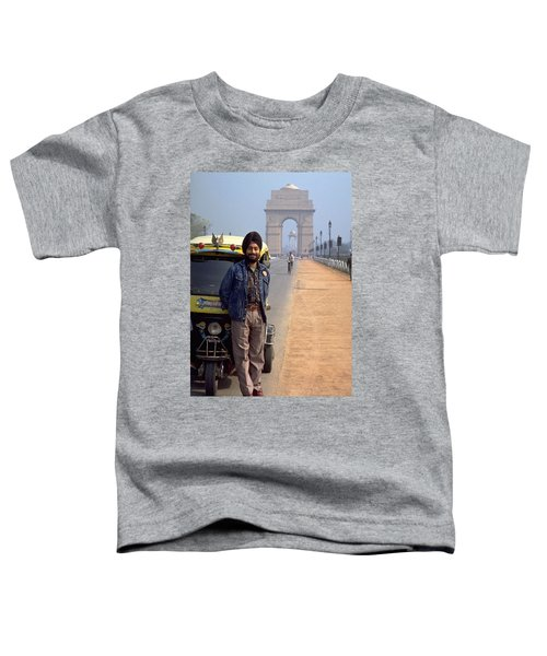 Toddler T-Shirt featuring the photograph India Gate by Travel Pics