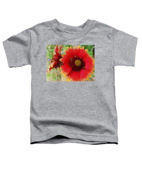 Indian Blanket Flowers Toddler T-Shirt