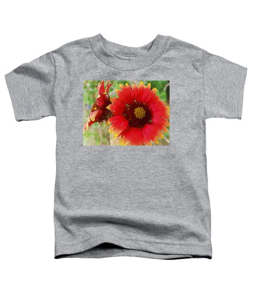 Indian Blanket Flowers Toddler T-Shirt