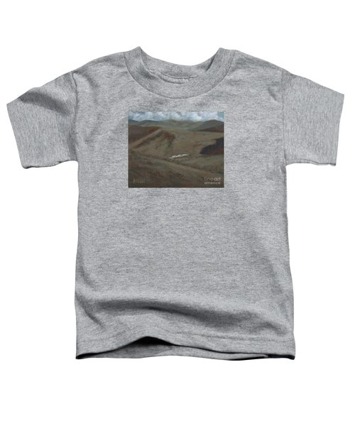 Indian Lodge - A View From The Top Ft. Davis, Tx Toddler T-Shirt
