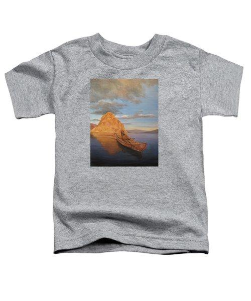 Indian On Lake Pyramid Toddler T-Shirt