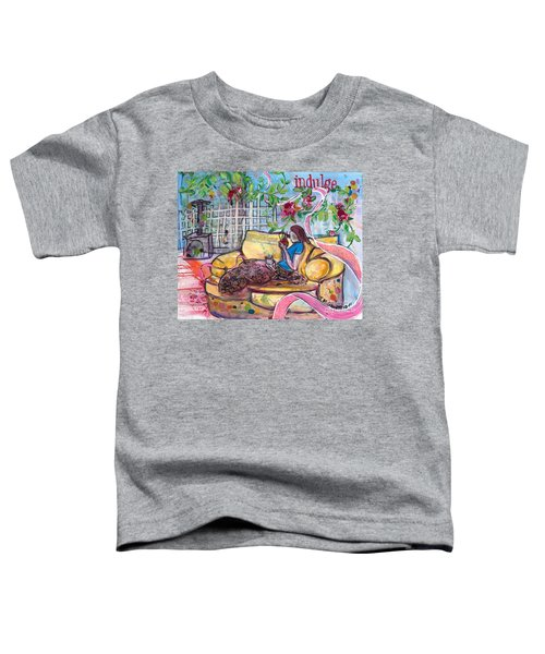 Indulge Toddler T-Shirt