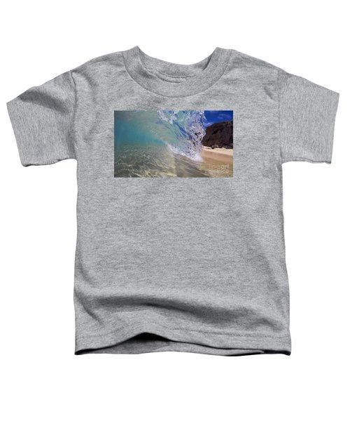 Inside The Curl Big Beach Maui Wave Toddler T-Shirt