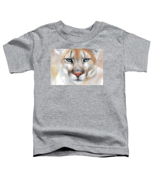 Intensity - Mountain Lion - Puma Toddler T-Shirt