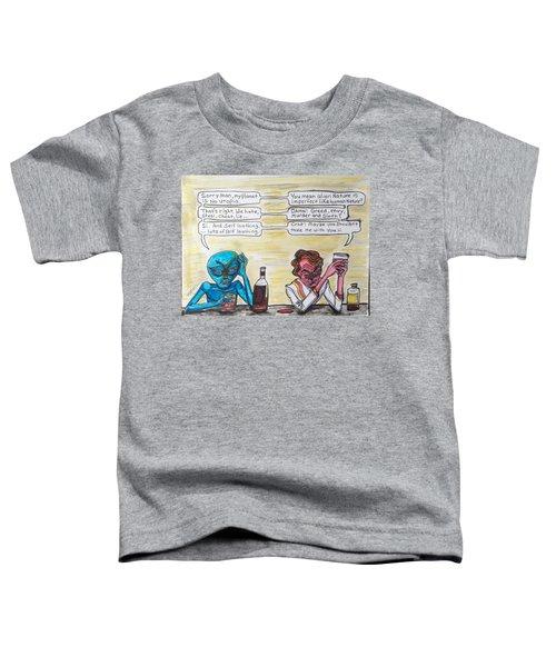 Intergalactic Reality Check Toddler T-Shirt