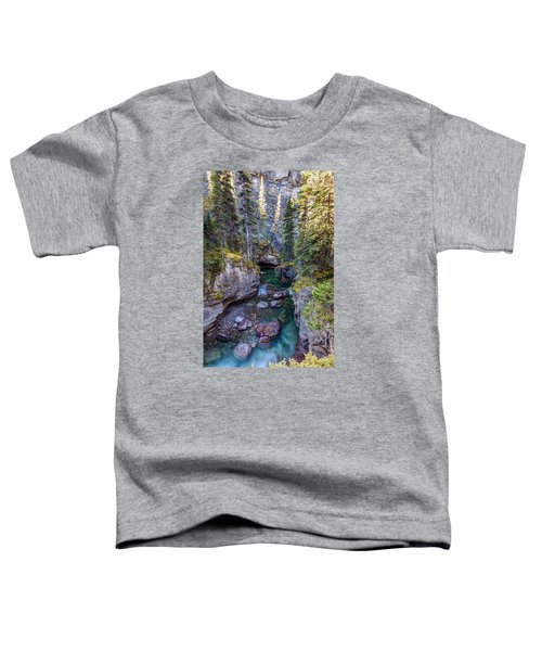 Into The Heart Of Maligne Canyon Toddler T-Shirt