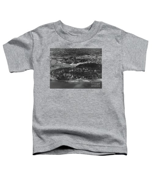 Inwood Hill Park Aerial, 1935 Toddler T-Shirt by Cole Thompson